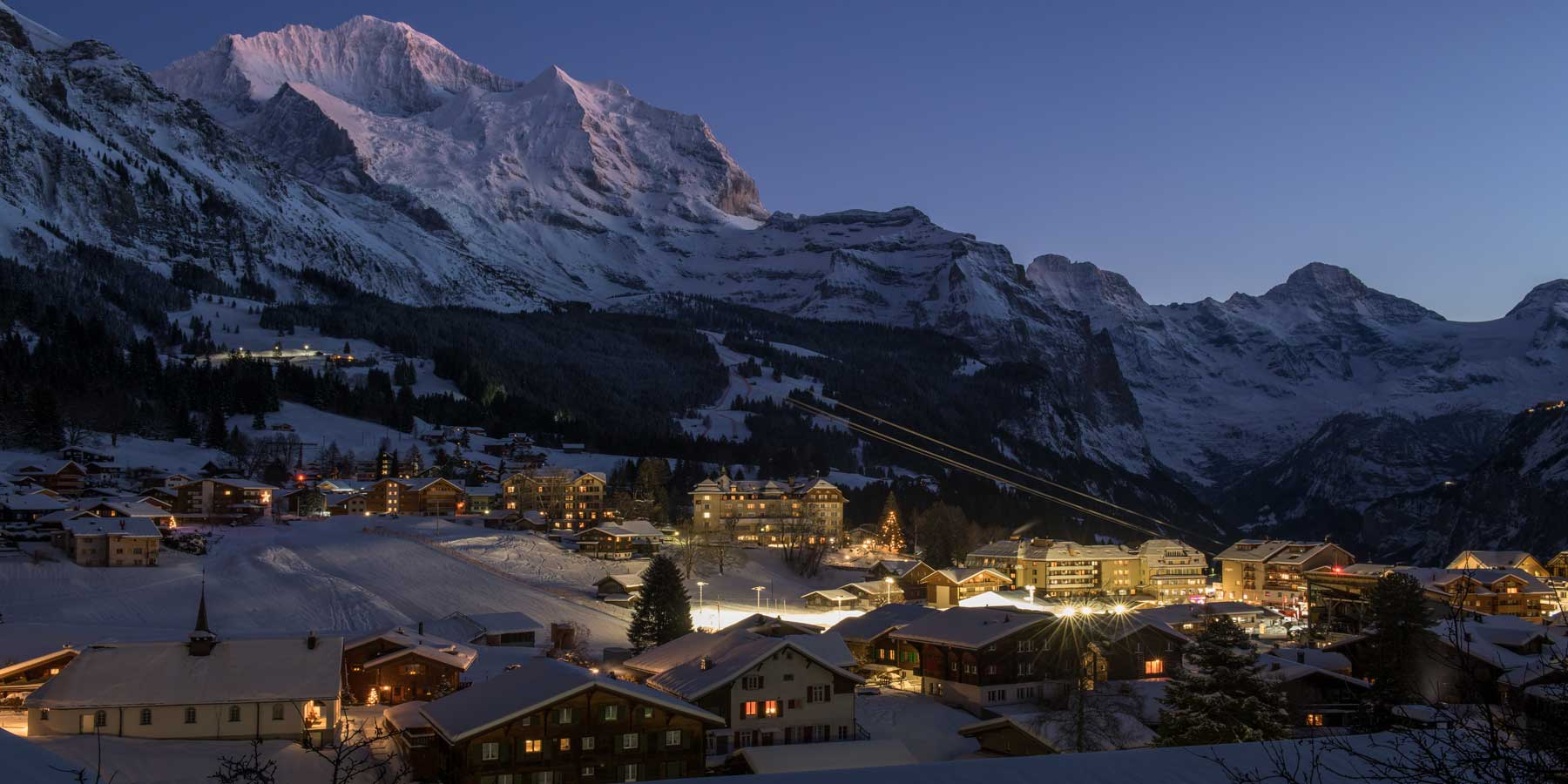 Wengen-night-skiing