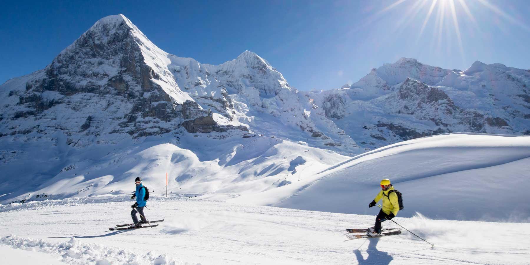 Lauberhorn-skiing