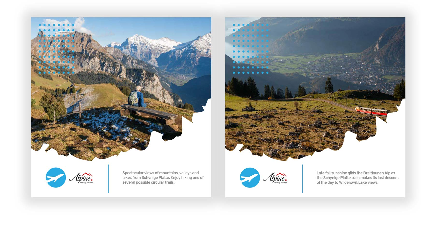 Hiking the Swiss Alps - Wengen Excursions