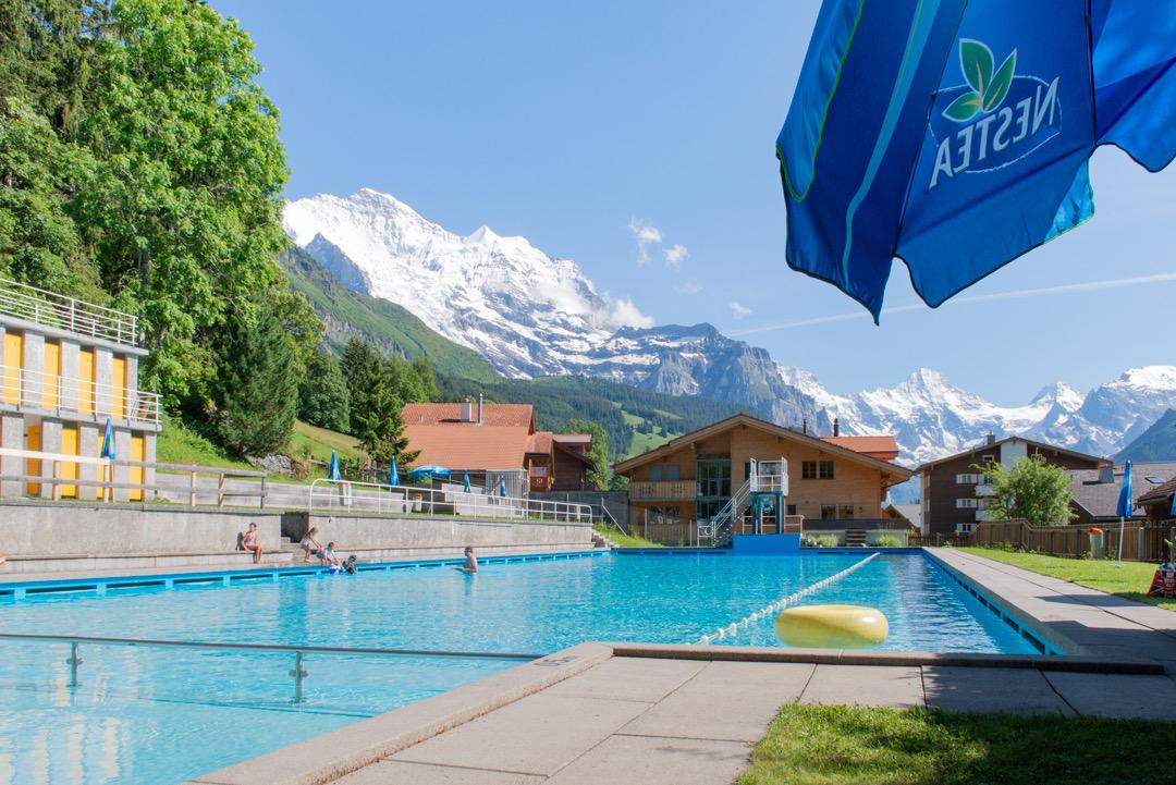 Schwimmbad-Wengen