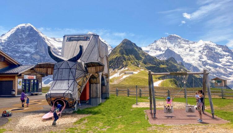 Alpine-Playground-Wengen-Männlichen